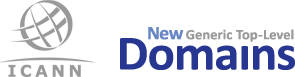 ICANN new generic Top Level Domains logo