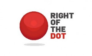 RIGHToftheDOT logo