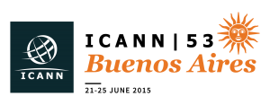 ICANN 53 Buenos Aires meeting logo