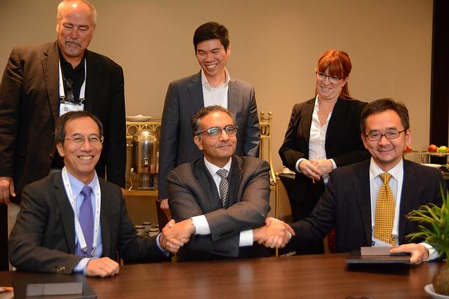 ICANN JPNIC and JPRS Sign MoU