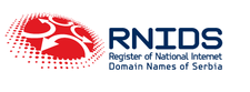 Serbian National Internet Domain Registry RNIDS logo