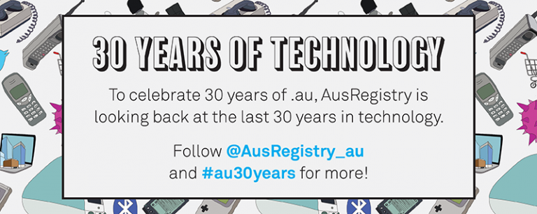 AusRegistry 30 Years of AU
