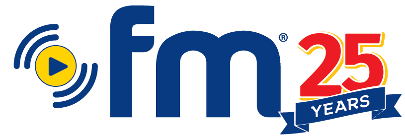 Dot FM 25 Years logo